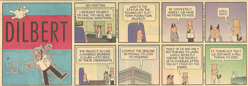 leadership  u0026 management lessons from dilbert